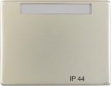 Berker Wippe mit Beschriftungsfeld IP44, Edelstahl (14361004)