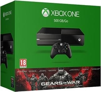 Microsoft Xbox One - 500GB Gears of War: Ultimate Edition Bundle black