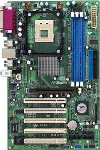 ASRock P4VT8+, PT800 (PC-3200 DDR)