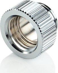 "Bitspower Touchaqua Verlängerung 1/4"" auf 1/4"", Glorious Silver, 2er-Pack (TA-F40-GS)"