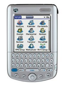 Palm Tungsten C niemiecki, 64MB, Palm OS 5.0 (P80900DE)