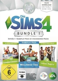 Die Sims 4: Bundle Pack 1 (Add-on) (PC)