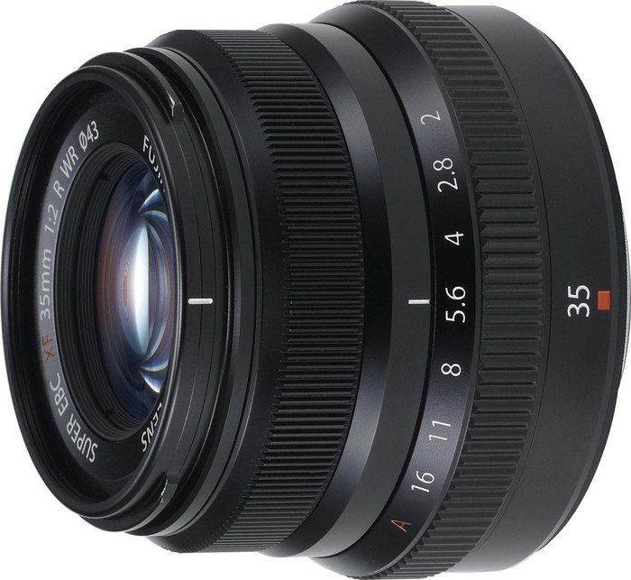 Fujifilm Fujinon XF 35mm 2.0 R WR schwarz