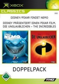 2 Games in 1: The Incredibles / Finding Nemo (Xbox)
