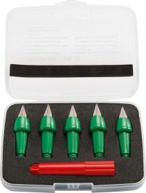 STABILO EASYbirdy grün mittel, RH, Ersatzfeder, 5er-Set, Etui, inkl. Federwinkel-Einstellwerkzeug (5010/2-1)