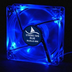 Sharkoon Strobe Fan niebieski 80mm