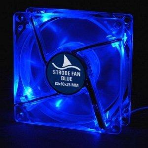 Sharkoon Strobe Fan blue, 80mm