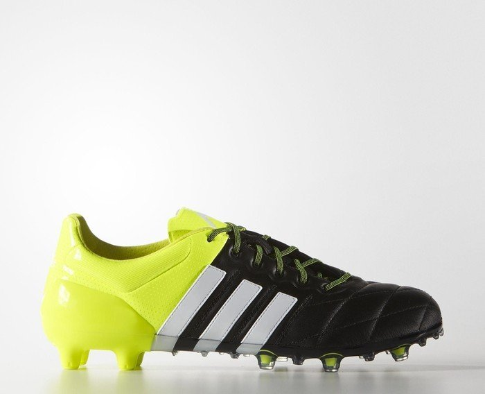 31b573cf5 adidas Ace 15.1 FG AG core black white solar yellow (men) (B32818 ...