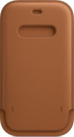 Apple Lederhülle mit MagSafe für iPhone 12/12 Pro sattelbraun (MHYC3ZM/A)