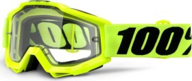 100% Accuri Enduro MTB Schutzbrille fluo yellow/clear vented dual lens (50206-004-02)
