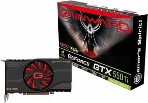Gainward GeForce GTX 550 Ti, 1GB GDDR5, VGA, DVI, HDMI (2050)