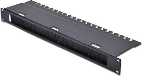 Digitus Durchführungspanel für Netzwerk- und Serverschränke schwarz (DN-19 ORG-3U-SW)