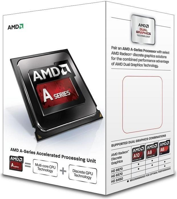 "AMD A4-7300 ""Kaveri"", 2x 3.40GHz, boxed (AD7300OKHLBOX)"