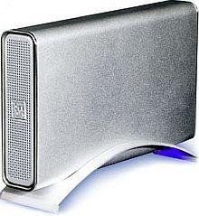 """RaidSonic Icy Box IB-360U-BL silber, 3.5"""", USB-B 2.0 (20375)"""