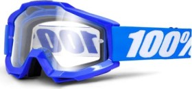 100% Accuri Enduro MTB Schutzbrille reflex blue/clear vented dual lens (50206-002-02)