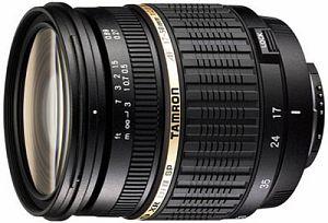 Tamron SP AF 17-50mm 2.8 XR Di II LD Asp IF mit AF-Motor für Nikon F schwarz (A16NII)