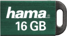 Hama Pietas grün 16GB, USB-A 2.0 (114969)