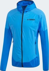 adidas Terrex Skyclimb Fleecejacke glow blue (Herren) (FI8784)