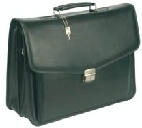 "Targus Leather Attaché 15.4"" Tragetasche (CL101)"