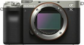 Sony Alpha 7C silber mit Objektiv Fremdhersteller