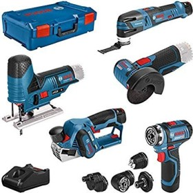 Bosch Professional Cordless Tool Set incl. L-Boxx + 3 Batteries 3.0Ah (0615A0017D)