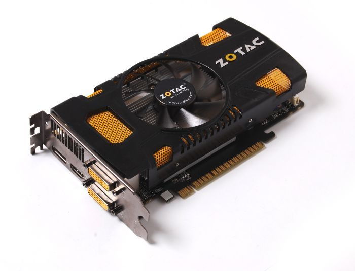 Zotac GeForce GTX 550 Ti, 1GB GDDR5, 2x DVI, HDMI, DisplayPort (ZT-50401-10L)
