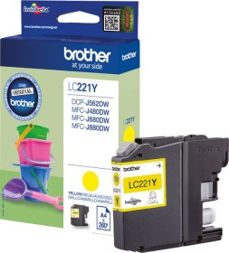 Brother Tinte LC221Y gelb