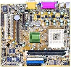 Shuttle MS21L, SiS730, LAN, µATX