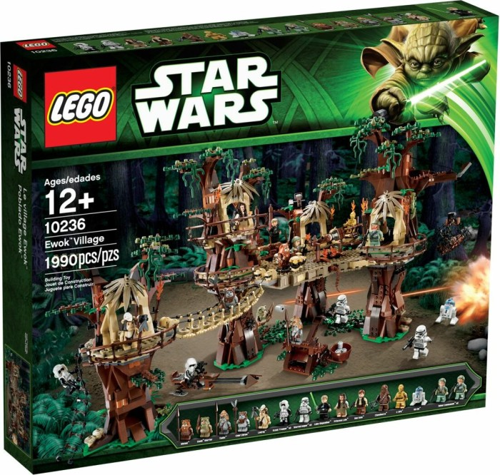 LEGO Star Wars Exclusives - Ewok Village (10236)