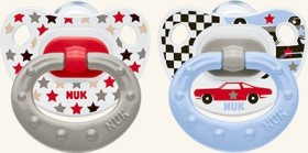 NUK Classic Happy Days soother, silicone, Group 2 (various colours)