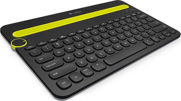 Logitech K480 Bluetooth Multi-Device Keyboard schwarz, US (920-006366)