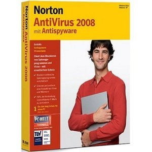 Symantec: Norton AntiVirus 2008 (deutsch) (PC) (12775332)