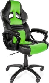 Arozzi Monza Gamingstuhl, grün/schwarz