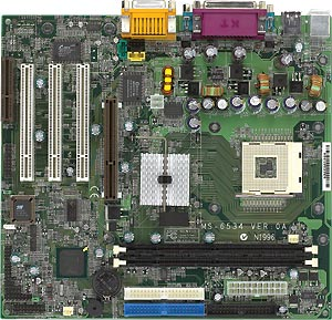 MSI MS-6534, i845, µATX (SDR)