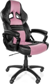 Arozzi Monza Gamingstuhl, pink/schwarz