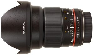 Samyang lens 24mm 1.4 ED AS UMC for Nikon
