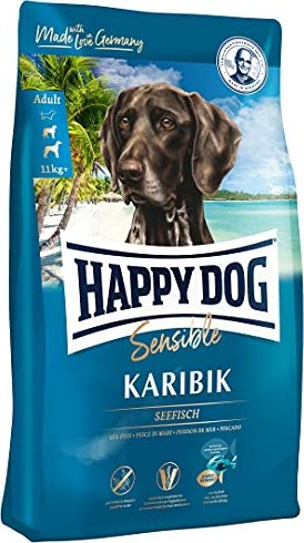 happy dog supreme sensible karibik adult seefisch kartoffel banane 4kg tierbedarf. Black Bedroom Furniture Sets. Home Design Ideas