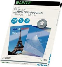 Leitz laminating film iLAM A4, 2x 100µm, shiny, 100-pack (74800000)