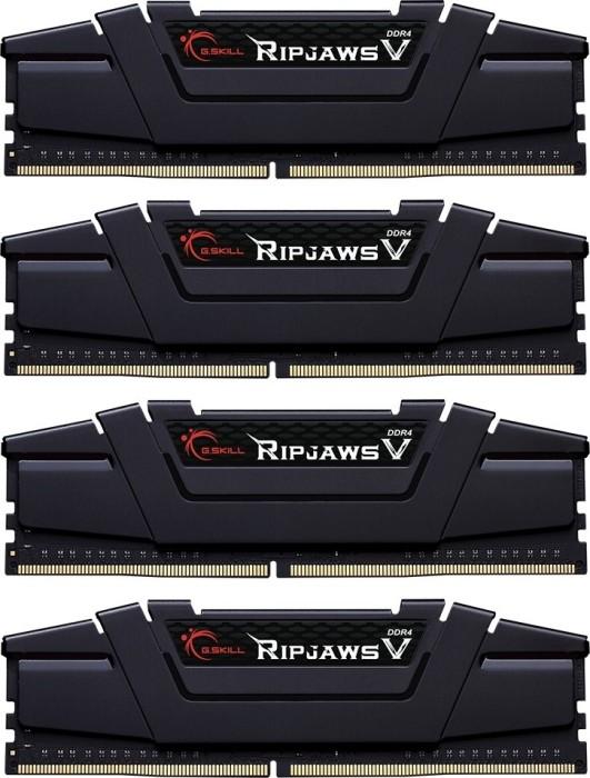 G.Skill RipJaws V black DIMM kit 64GB, DDR4-3200, CL14-14-14-34 (F4-3200C14Q-64GVK)