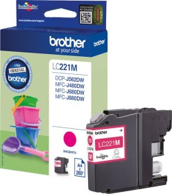 Brother Tinte LC221M magenta