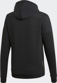 adidas jacke schwarz kaputze daumenlöcher