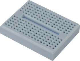 Breadboard, number of pins 170, 46x36mm, blue (various Manufacturer)