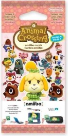 Nintendo amiibo-Karten Packung - Serie 4: Animal Crossing (Switch/WiiU/3DS)