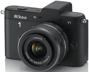 Nikon 1 V1 (EVIL) black with lens VR 10-30mm 3.5-5.6 (VVA101K001)