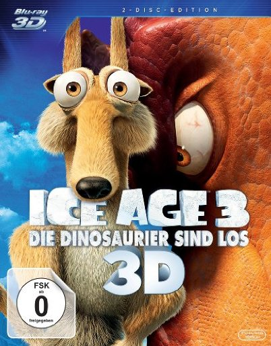 Ice Age 3 - Die Dinosaurier sind los (3D) (Blu-ray) -- via Amazon Partnerprogramm