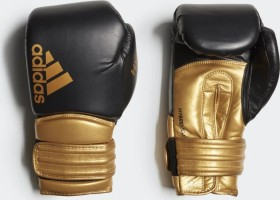 adidas Hybrid 300 Boxhandschuh black/bold gold (CI9187)
