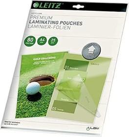 Leitz laminating film iLAM A4, 2x 80µm, shiny, 100-pack (74780000)