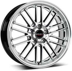 Borbet CW2 9.5x19 5/112 ET30 silver