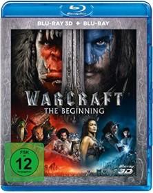 Warcraft: The Beginning (3D) (Blu-ray)