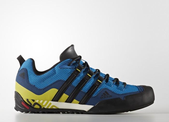 adidas Terrex Swift Solo unity blue/core black/unity lime (Herren) (BA8491)